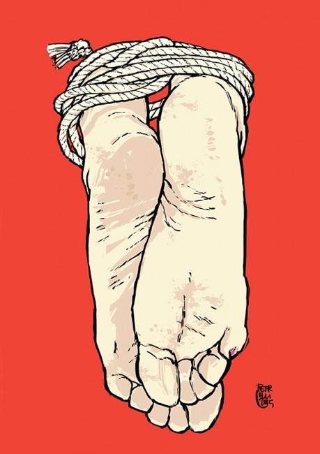 """Feet #1"" • 2015"