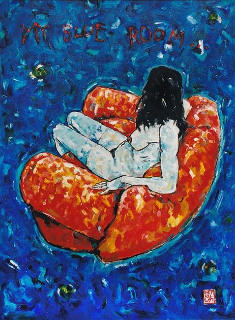 """My blue room"" • 1997"