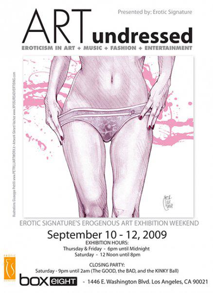 """ARTUndressed"", Los Angeles • 2009"