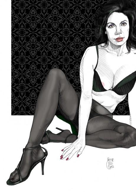 """Black Nylon #5"" • 2007"
