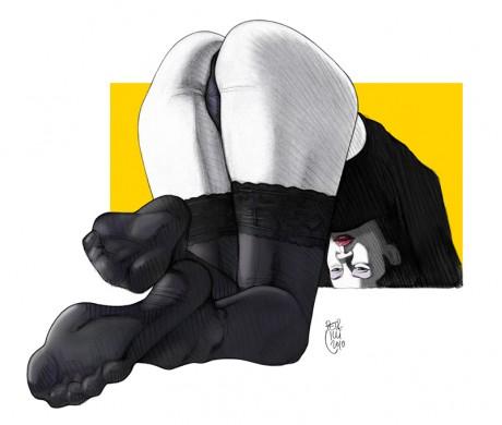 """Black Nylon #6"" • 2010"
