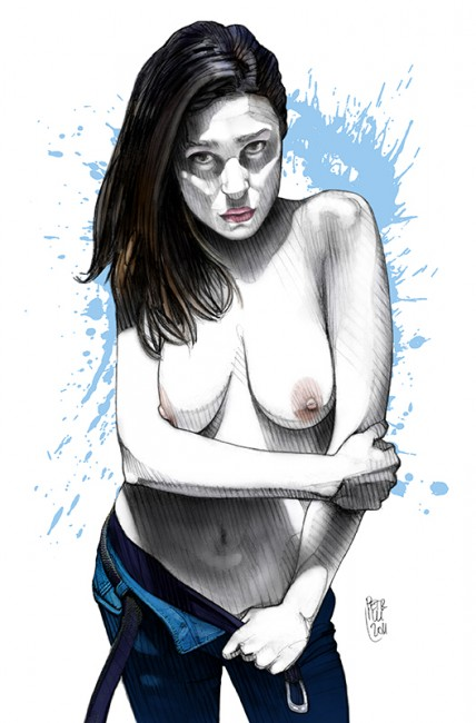 """Blue Jeans #1"" • 2011"