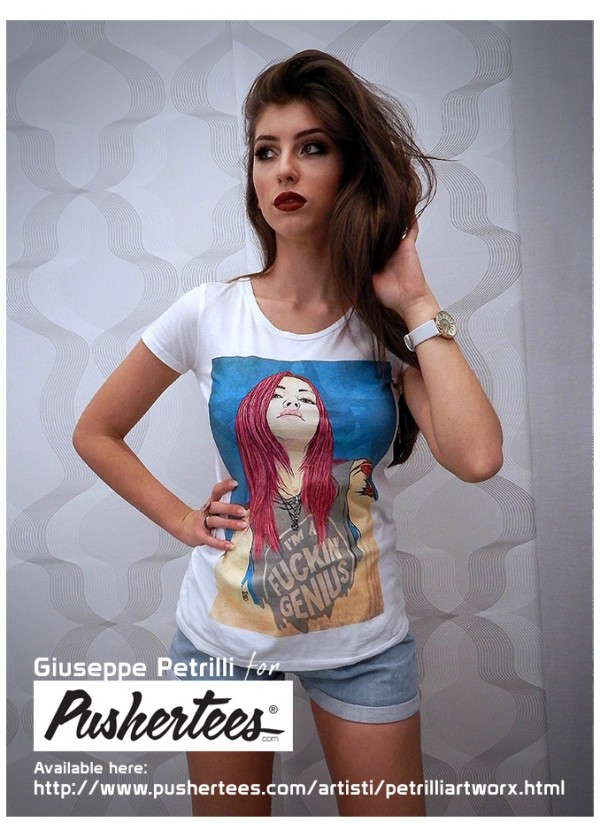 T-SHIRT WOMAN PETRILLIARTWORX®