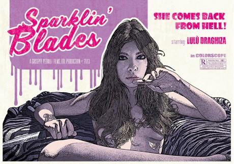 """Sparklin' Blades"" #2 • 2013"