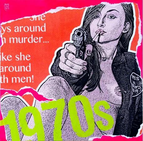 """""""1970s Exploitation #3"""" • 2013"""