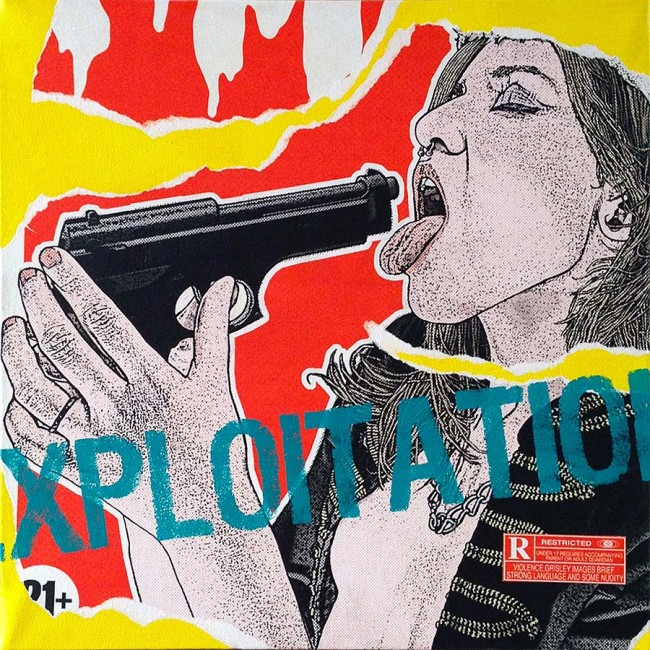 """""""1970s Exploitation #9"""" • 2013"""