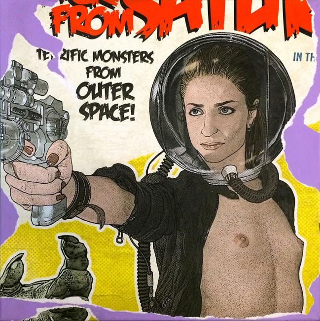 """""""1970s Exploitation #13 (No Gravity)"""" • 2014"""